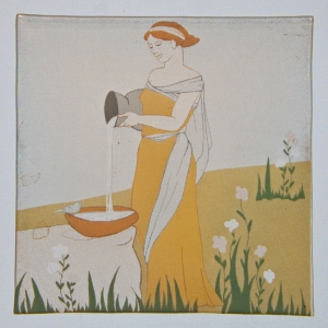 Roman Painted Glass