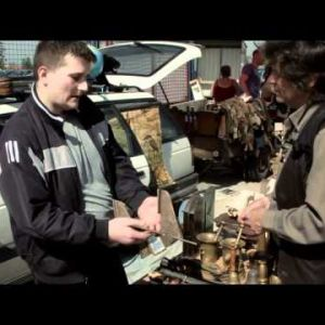 video Flea Market in Zagreb Croatia